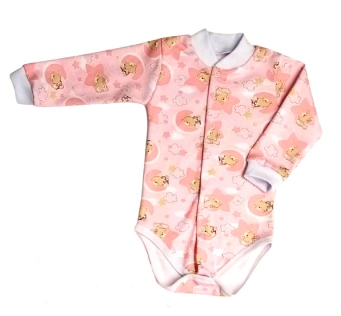 Боди (5086/27) розовое, мишки