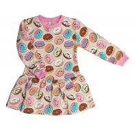 Платье (7119/3) пончики