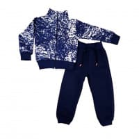 Спортивный костюм 0212/10 (снежок, темно-синий)