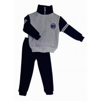 Спортивный костюм 0212/33 меланж, темно - синий