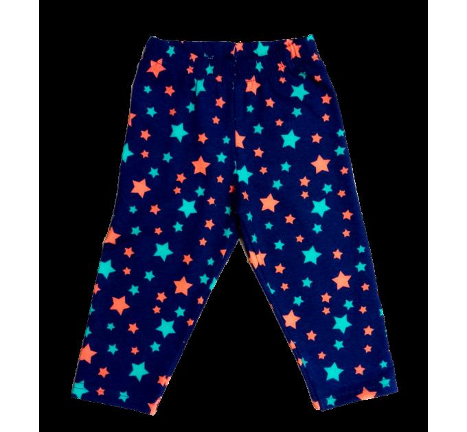 Велосипедки 382/30 звезды на синем