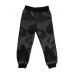 Спортивные штаны 381 (камуфляж, черный)