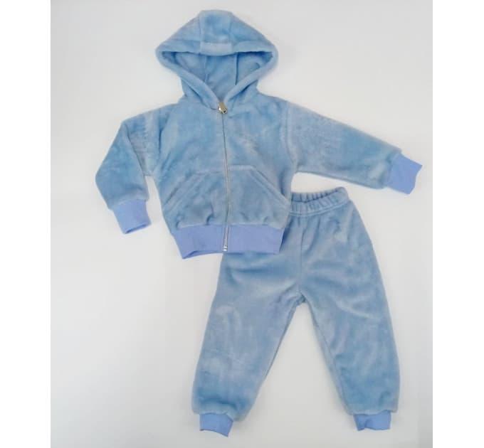 Спортивный костюм 0356/3 (голубой, велсофт)