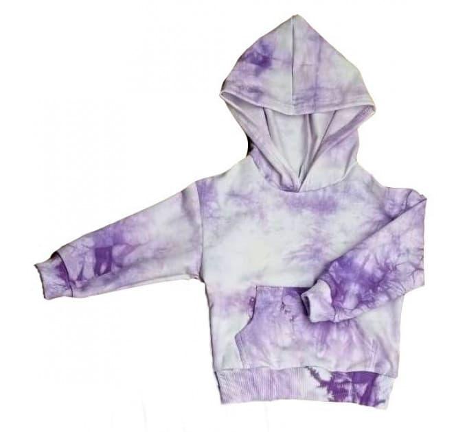 Толстовка (0312/37) варенка фиолет, 2х нитка
