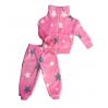 Спортивный костюм 0356/11 (розовый, звезды)
