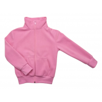 Кофта 207/2 розовая, флис