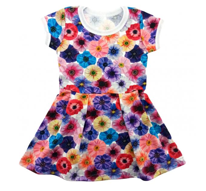 Платье 204/1 цветы