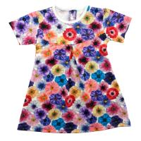 Платье 725/2 яркие цветы
