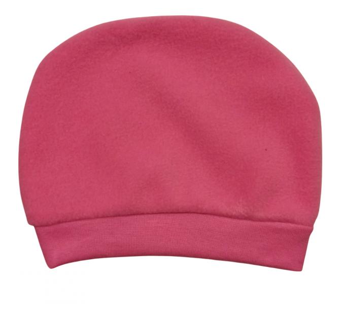 Шапочка флис 828/6 розовая