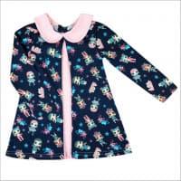 Платье 7066/14 (куколки, темно - синее)