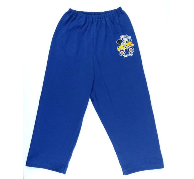 Ползунки штанишки 510/2 (синие, наклейка)
