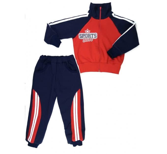 Спортивный костюм 0280/1 (красный)