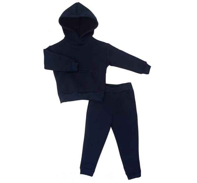 Спортивный костюм 0313/14 т.синий, без начес
