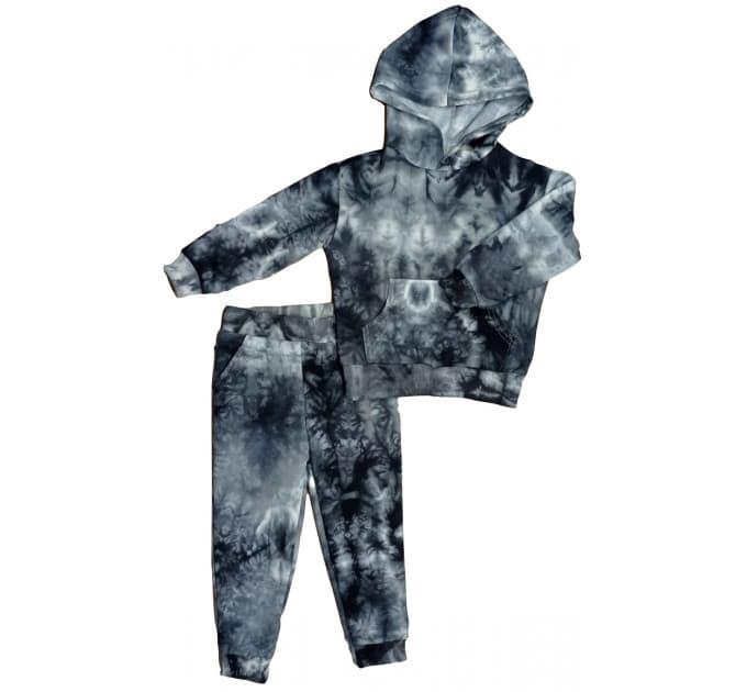 Спортивный костюм 0315/10 варенка, черный