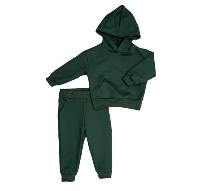 Спортивный костюм 0316/1 т. зеленый