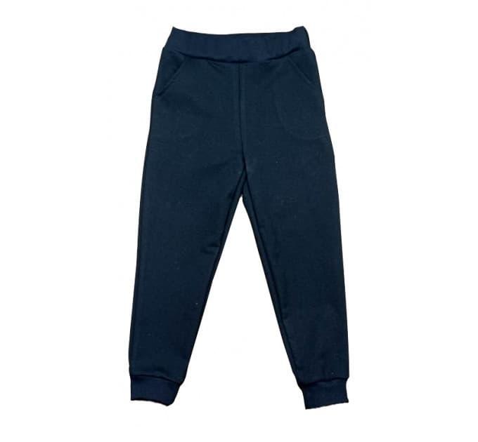 Спортивные штаны 381/48 черные с карманами