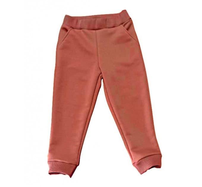 Спортивные штаны 396/15 коричневые, без начеса