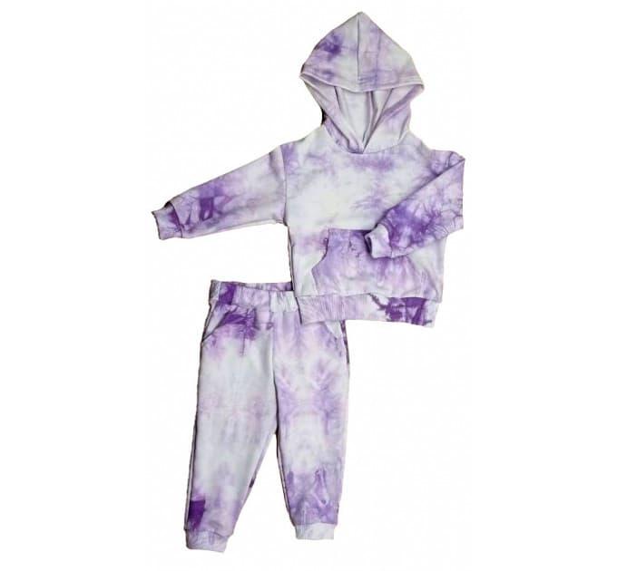 Спортивный костюм 0315/4 варенка, фиолет
