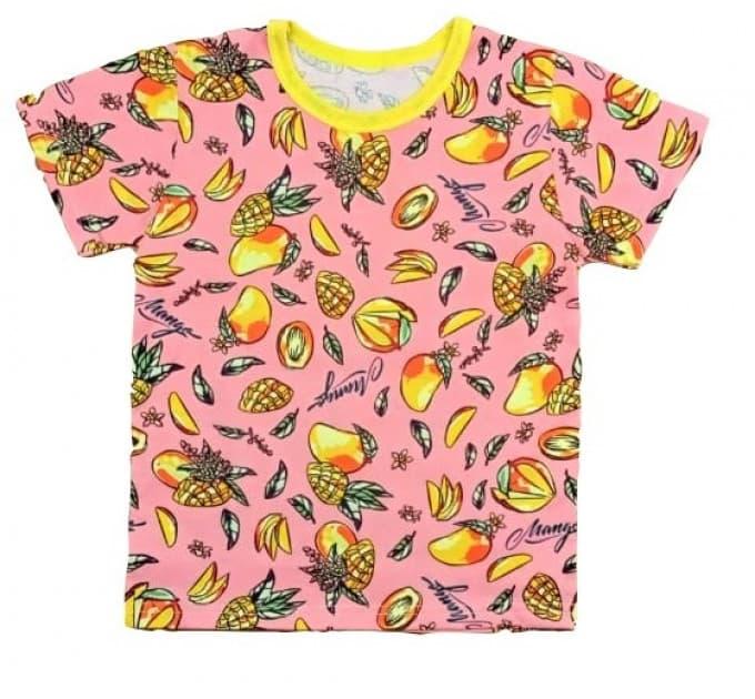 Футболка для девочки 411/92 манго