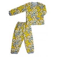 Пижама 602/34 мишка желтый
