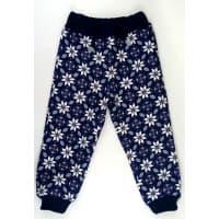 Спортивные штаны 396/10 (темно - синие, узор)