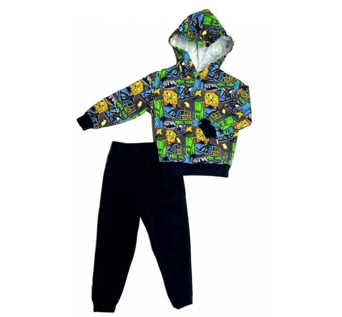 Спортивный костюм 0315/1 (граффити)