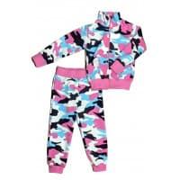 Спортивный костюм 0209/52 розовый камуфляж