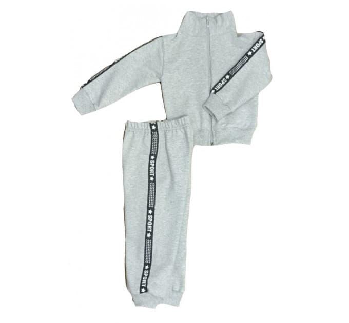 Спортивный костюм 0256/9 меланж, лампасы
