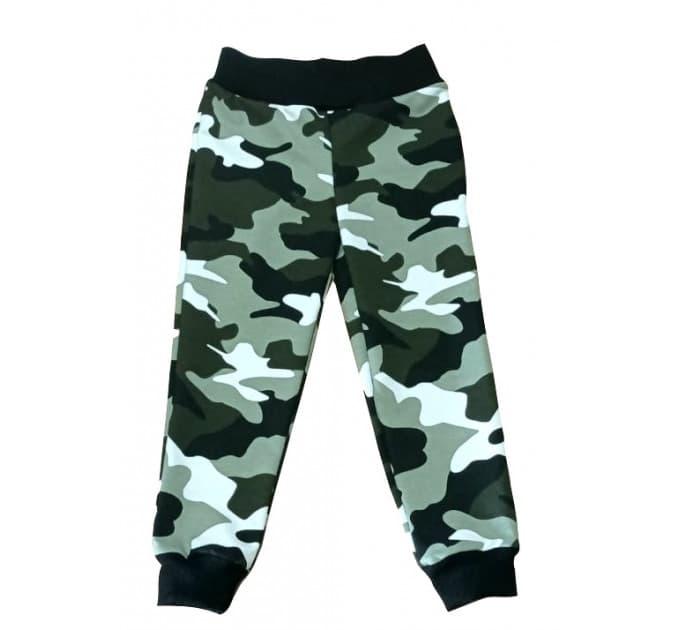 Спортивные штаны 398/5 (камуфляж, светло зеленые)