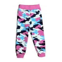Спортивные штаны 398/7 камуфляж розовый