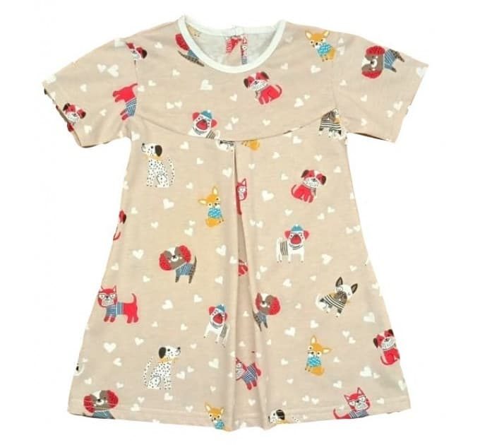Платье 724/25 собачки