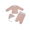 Комплект ясельный 0339/1 мишки на розовом