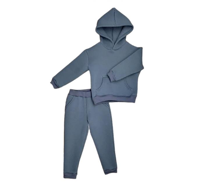 Спортивный костюм 0313/20 т.серый