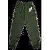 Спортивные штаны 360/8 (темно - зеленые, кант)