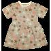 Платье 7072/8 (цветные звезды, беж)