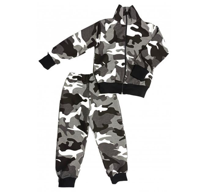 Спортивный костюм 0209/29 (камуфляж серый)