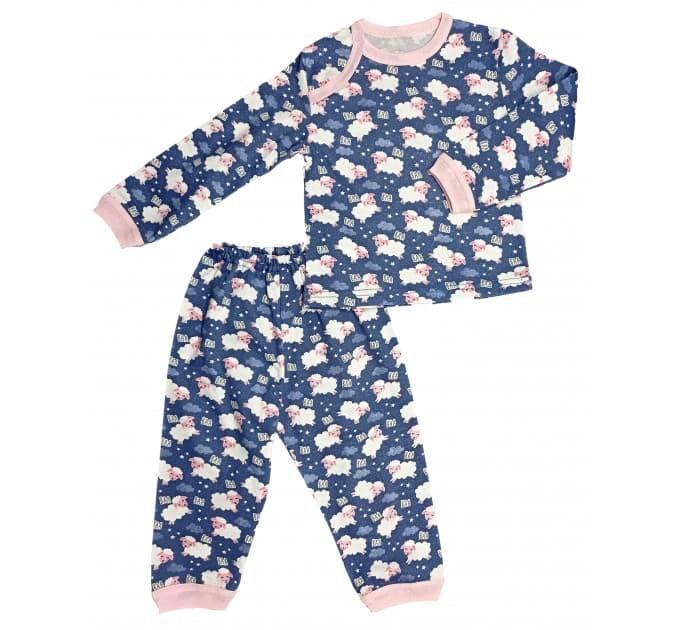 Пижама 602/27 (овечки на синем)