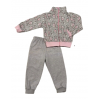 Спортивный костюм 2185/9 зайцы розовые