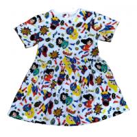 Платье 7072/16 супер-герои